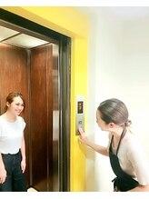 エレベーターを準備して、お見送りまで心を込めてさせて頂いております☆