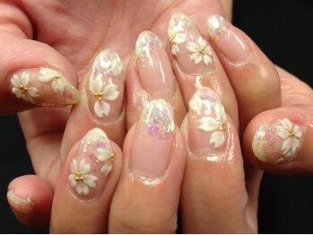 桜の季節★入学式ネイル