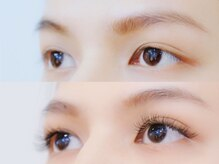 ボネール(nail & eyelash Bounail)/3DラッシュBefore afterイメージ