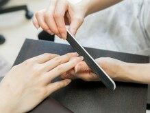 自爪ケア専門サロン イニュラ(inula)の雰囲気(自爪を育てやすい形にカット→甘皮、薄皮処理→育爪オイルで保湿)