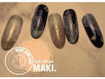 ブルージャムネイル(BLUE.JAM.nail)/11月キャンペーンネイル☆