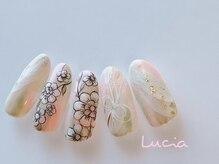 ルチア(Lucia)/和柄フラワーネイル♪