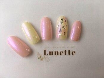 リュネット 三軒茶屋店(Lunette)/ハンドサンプルAコース 5700円