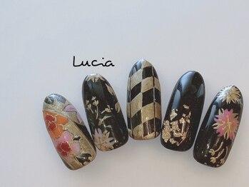 ルチア(Lucia)/着物ネイル♪