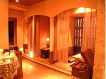 アーユルヴェーダサロン 茶倉の雰囲気(待合室はヒーリング音楽が流れ掘りごたつ式の落ち着ける空間。)
