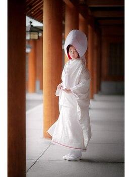 ジェイエム エステ/北海道神宮/白無垢・綿帽子♪