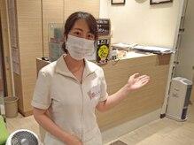 リフレーヌ 川崎駅前店/マスク+マスガードの着用