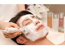 メンズフェイシャル人気NO.1!凸凹毛穴&小鼻の黒ずみ、皮脂の詰まりやザラツキをゴッソリ洗浄!