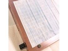 ジェルオフ時は最新の集塵機を使用、ダストの舞を防ぎます。