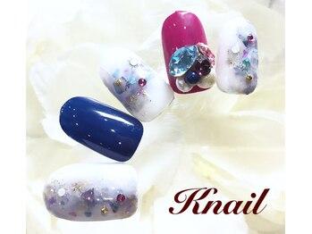 ケイネイル(Knail)/華やかオーダーネイル¥11480