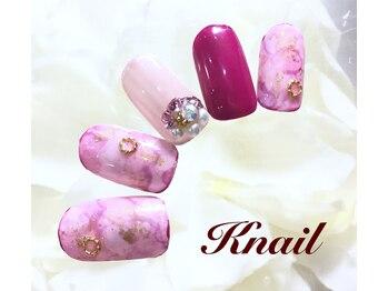 ケイネイル(Knail)/華やかオーダーネイル¥11980