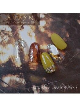 アウリン(AURYN)/6月限定monthly design No,1