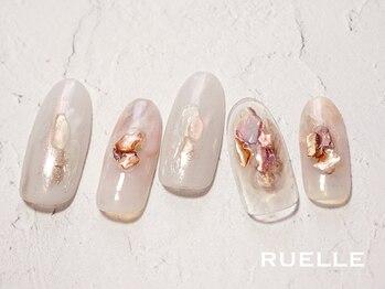 リュエル(RUELLE)/ニュアンスミラー 大理石 個性