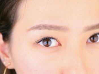 ビューティーラウンジ レント(beauty lounge Lento)の写真/【大人女性の品格eye】次世代パーマ×美眉スタイリング¥7780☆見せたい印象に合わせたお目元をご提案♪