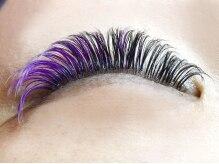 Hair Make K・C サロンドオリーブの雰囲気(希少価値の高い『3Dボリュームラッシュ』のカラーエクステあり!)