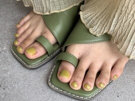 foot one color ピスタチオ