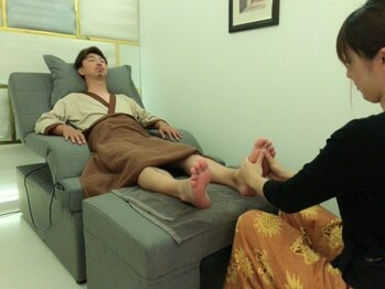 カヌン タイリラクゼーション(KANUN THAI RELAXATION)の写真/その日の疲れその日のうちに!日頃のコリ・疲れを解消しましょう!【アロマ60分¥5500】お仕事帰りにもOK♪