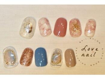 ラブネイル(LOVE NAIL)/定額9000円