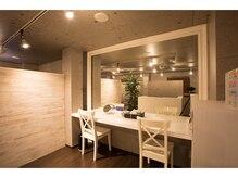 ドット1101 渋谷店(DOT)の雰囲気(メイクスペースも完備しているのでお出かけ前やお仕事帰りでも◎)