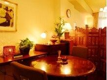 サロンドマガ(Salon de Maga)の雰囲気(アロマの香り広がるサロン内☆完全個室で贅沢空間を独り占め♪)
