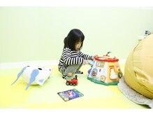 キッズスペース♪※3歳以上の一人遊びが出来るお子様向けです。
