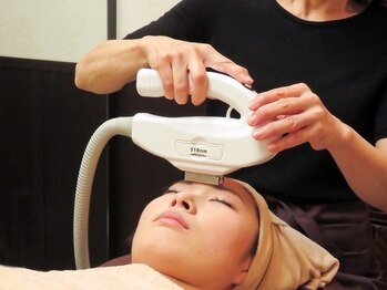 サロンド凜花(Beauty Salon Rinka)の写真/フォト美顔とラジオ波が同時に施術可能◎様々なお肌のお悩みに対応できる最新マシンでお悩み解決&美肌へ☆