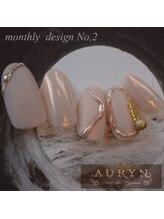 アウリン(AURYN)/6月限定monthly design No,2