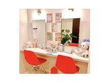 アイラッシュサロン ブラン トツカーナモール店(Eyelash Salon Blanc)の雰囲気(メイクスペース完備☆お直しもごゆっくり♪)