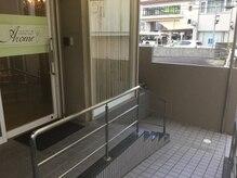 逆瀬川駅徒歩1分駐輪スペースございます