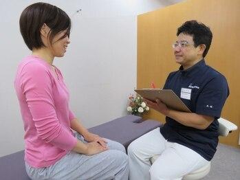 静岡療術整体院/カウンセリングを重視!
