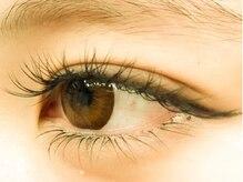 リーフオレンジアイラッシュ(leaf orange eyelash)