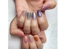 ララ ネイルズ(LaLa Nails)の雰囲気(最近人気なワンカラー。通常は2色までお選びいただけます。)