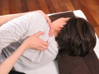 ウサハナ(Usa hana)の写真/首肩が特につらい方へ!全身の歪みを整えることで首肩コリを根本からスッキリ改善◎施術後の軽さが感動的♪