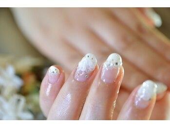 ネイルサロンブラン(nail salon BLANC)/[定額]ブライダルコース 11000円