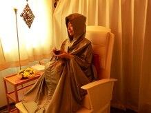 プライベートサロン ニーナ(NI-NA)の雰囲気(椅子型の温浴器に座りリラックスしながら体内環境の改善を。)