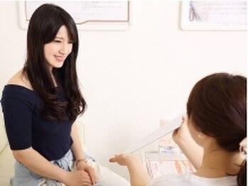 アイラッシュサロン ブラン 広島アルパーク店(Eyelash Salon Blanc)/カウンセリング風景