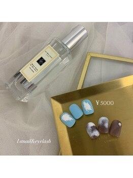 ファーストネイルアンドアイラッシュ 札幌駅前店(1stNAIL&eyelash)/■定額デザイン¥5000■