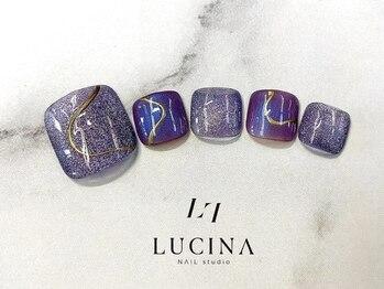 ネイルスタジオ ルキナ(LUCINA)/N-74 上品ニュアンスマグネット