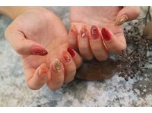 autumn nail..