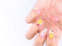 ドレープネイル(drape nail)の雰囲気(10本アートのデザインコースは初回オフ込¥7980☆)