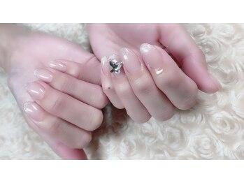 シュシュネイル(chouchou nail)/マオジェル☆バタフライスワロ