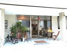 カフェのような外観♪おしゃれを楽しむならbeauty salon RU!