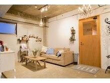 ジル 西新店(JilL)の雰囲気(隠れ家的などこか落ち着くサロン空間です☆)