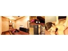 ジェイ リッチ ホテルサロン 名古屋店(J RICH HOTEL SALON)の雰囲気(ホテル内サロンで全室個室♪落ち着いた雰囲気で癒しや痩身も◎)
