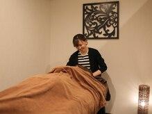 ブラン リラクシング(BLANC Relaxing)の雰囲気(個室空間で贅沢な時間を…♪)