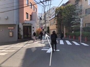 トータルボディサロンN/順路5(代官山駅ver.)