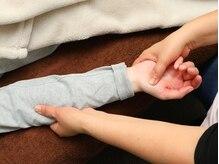 りんでんマニピ指圧治療院の雰囲気(肩~手の平施術はリフレッシュ度◎)