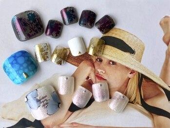 ララセスペデス(Lara Cespedes)/foot nail design200種類以上♪