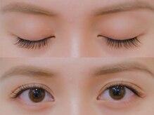 ボネール(nail & eyelash Bounail)/左フラット 右セーブル120本
