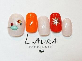 ローラポンポニー(Laura pomponnee)/リゾートネイル